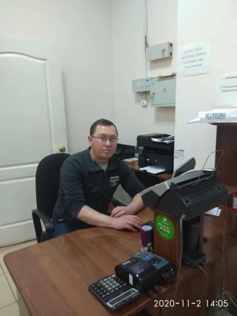 бухгалтер СП Глазов Сабреков Руслан Алексеевич