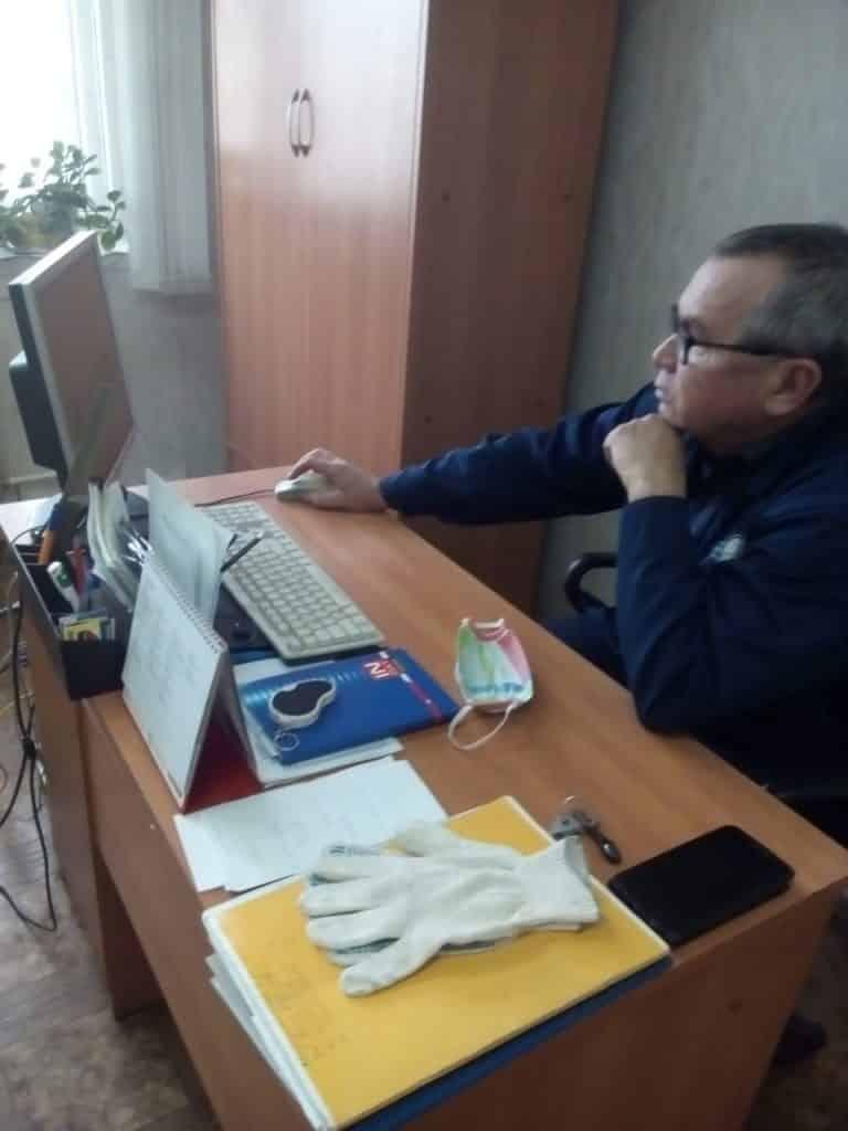 кладовщик СП Можга Файзрахманов Рустам Габделхакович